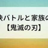 【鬼滅の刃】家族の絆に泣けて、刀のバトルに興奮できるアニメ